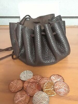 Viking Coins With Leather Pouch $19.00 Free Shipping