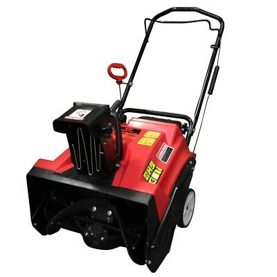 """Warrior Tools Gas 4 Cycle Single Stage 20"""" Snow Thrower Blower 87cc Engine"""