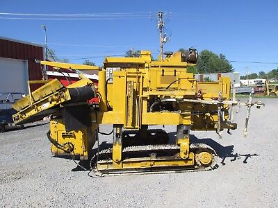 Gomaco 6200 Commander Ii Power Curber Formless Concrete Machine 4060 Hours