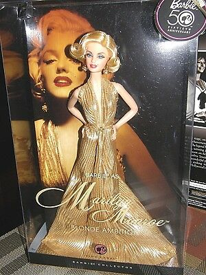 Barbie 50th anniversary  Marilyn Monroe {blonde ambition}  2008 mattel collector