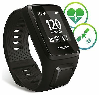 TomTom Spark 3 Cardio GPS Large Watch - Black. - From the Argos Shop on ebay