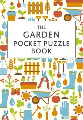 The Garden Pocket Puzzle Book (Hardcover), Squire, David, 9781849536820
