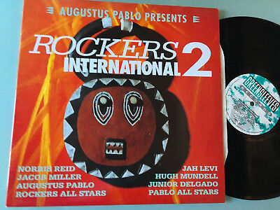 LP   UK 1992 MINT  Augustus Pablo ‎– Rockers International 2 Label: Greensleeves