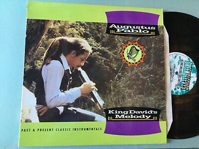 LP   UK 1992 MINT  Augustus Pablo ‎– King David´s Melody Label: Greensleeves Rec