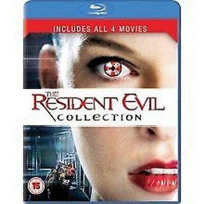 Resident Evil - 1 TO 4 Boxset (2010) NUOVO Blu-Ray (sbrp5197)
