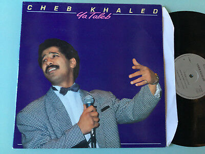 LP   FRANCE MINT Cheb Khaled - Ya Taleb