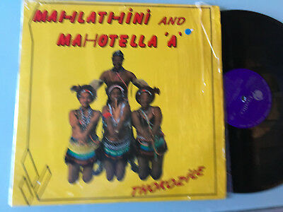 LP   South Africa 1987 NM M  Mahlathini and Mahotella 'A' ‎– Thokozile