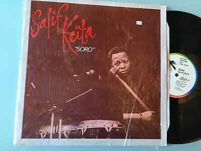LP    1987 ITALY MINT  Salif Keita ‎– Soro Label: Island Records ‎– mlps 9808