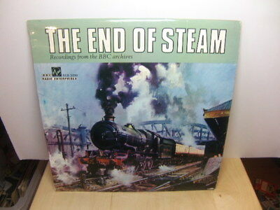 End of Steam – Railway Nostalgia in Sound and Words 1970 LP BBC REB 30M
