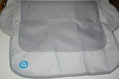 Munchkin Protect Booster Chair Cover, Grey  - new Open Package