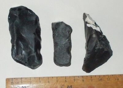 Mesolithic  / Neolithic Flint Scrapers And Pointes Tool