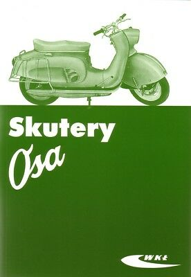 Owners Guide Handbook - Osa Polish Scooter Roller - Skutery WFM - WKL