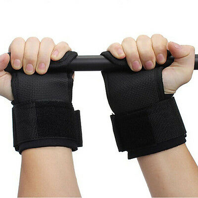 Gym Training Weight Lifting Straps Wraps Hand Bar Wrist Support Safe Protection