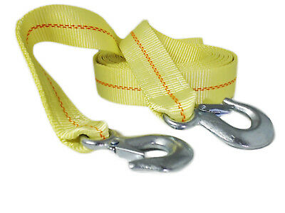 """ABN Tow Recovery Rope with Hooks 2"""" x 20' 10,000 LB Capacity"""