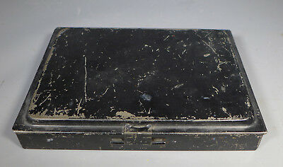Vintage Reeves Watercolour Paint Box Tin Used 32 Paints