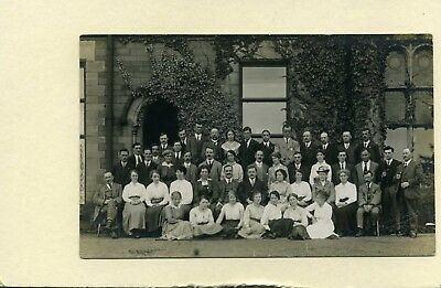 Bradley Court Sanatorium, Mitcheldean.  1917. Group
