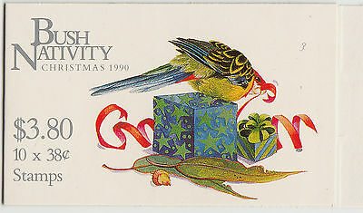 Australia 1990 Christmas  booklet stamps.