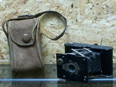 Antique Eastman Kodak Early Autographic Vest Pocket Folding Camera For 127A Film