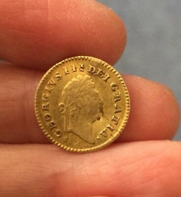 George Iii (1760-1820). Gold Third Guinea. Dated 1798.