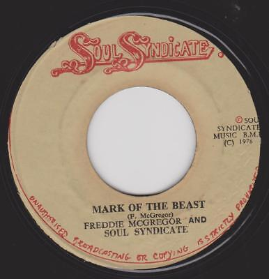 FREDDIE McGREGOR & SOUL SYNDICATE Mark of the beast Soul Syndicate Rare Jamaican