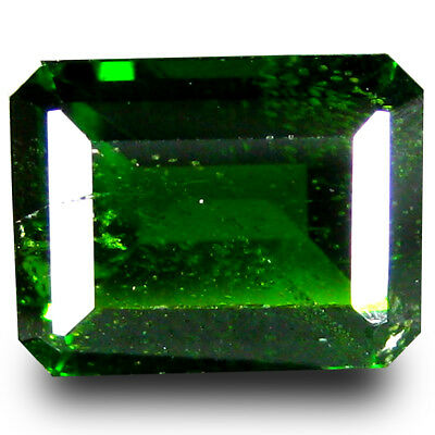 3.87 ct  Amazing Octagon Shape (10 x 8 mm) Green Chrome Diopside Gemstone