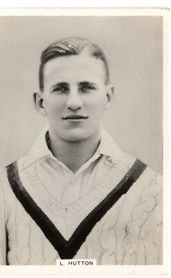 ARDATH / KINGS 1930's  PHOTOCARD CRICKETER  L. HUTTON