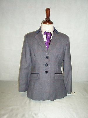 Tagg Fife Navy Tweed Children's Show Jacket