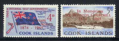 Cook Islands 2 Mnh Values