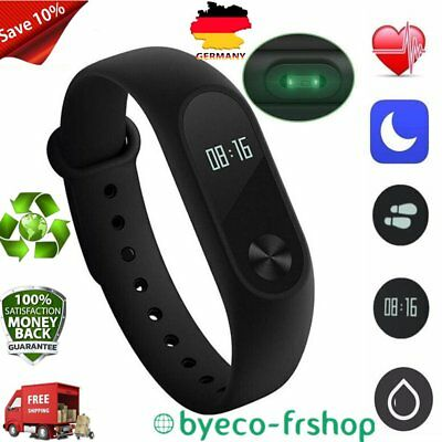 Newest Xiaomi Mi Band 2 Smart Watch with Heart Rate Monitor IP67 Waterproof VK