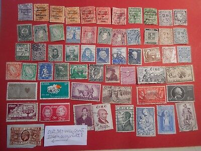IRELAND - small collection 1922 to 1950s + 1935 Jubilee OUR DAY WILL COME ovpt