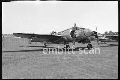 Original Negative, USAF Beechcraft C-45 Expeditor, 1950s