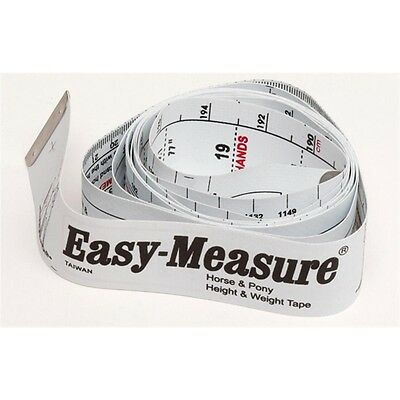 EASY MEASURE horse / pony HEIGHT & WEIGHT MEASURING BAND   WEIGHTAPE WEIGH TAPE