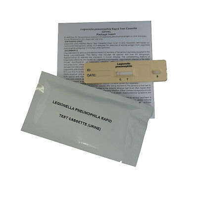 Legionella Urine Test Kits Legionnaires Disease GP Professional - EXP 06/2019