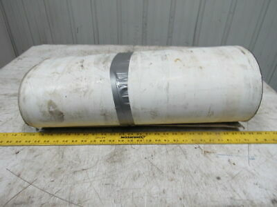 "2 Ply Woven Back PVC Smooth Top Conveyor Belt 23-1/2""x52'-9""x0.0825"""