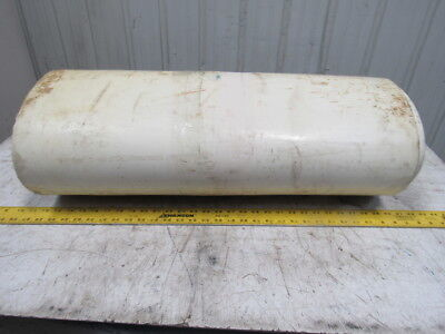 "2 Ply Woven Back PVC Smooth Top White Conveyor Belt 28""x55'x0.89"""