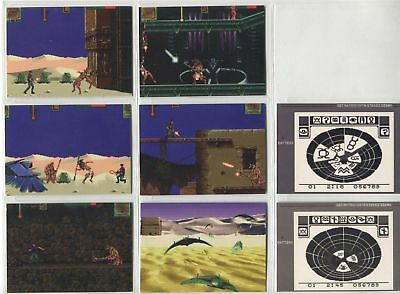 TC 1994 Stargate The Movie Complete Game Tips Chase Card Set TS1- 8