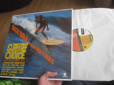 Dick Dale And His Del-Tones Surfer's Choice Vinyl Lp 2014