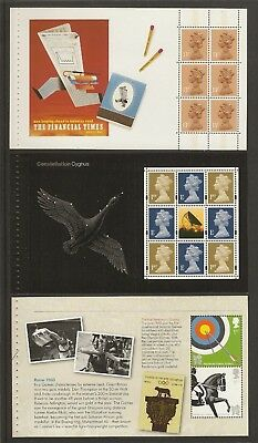 GB Stamps: Panes from Prestige Booklets.(a)