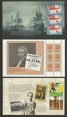 GB Stamps: Panes from Prestige Booklets.(b)