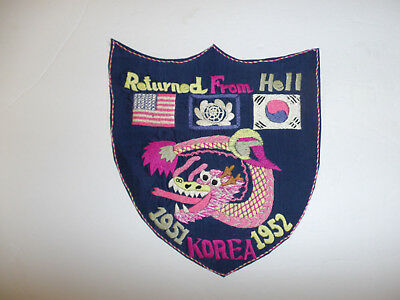 b9593 Korean War US Army Returned From Hell 1951 Korea 1952 R8E
