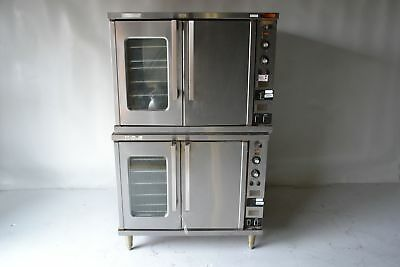 Used Toastmaster Double Stacked Convection Electric Oven