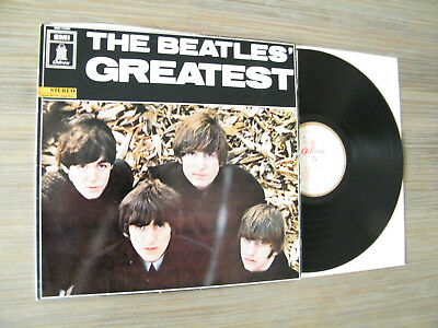 """Lp 12' The  Beatles - """"greatest"""" - (White- Gold-Odeon)  - Great Condition -"""