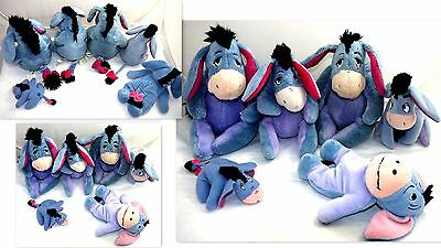 Eeyore Winnie Pooh Friend Disney Store Stuffed Animal Plush Toy Lot    #ee5