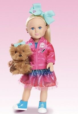 My Life As A Jojo Siwa Doll With Bowbow Dog Plush 18In New Nickelodeon Clothing