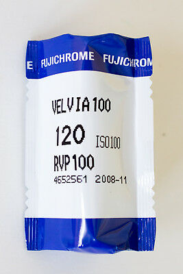 Fuji 120 Velvia 100 Fujichrome medium format  Slide reversal color film f e6