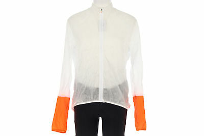 POC Essential Lt Wind Jacket X-LARGE Road Mountain Bike White / Orange