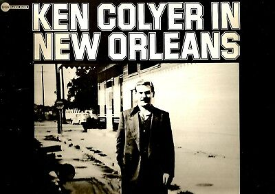 Cadillac Dawn Club Mono Lp *** Ken Colyer In New Orleans *** The 1953 Recordings