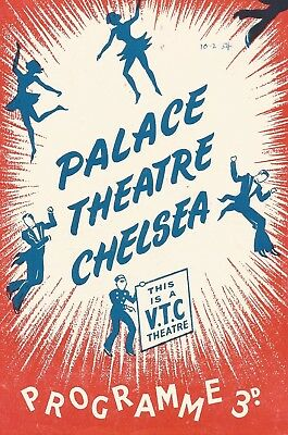 1954 *** MAX MILLER *** VARIETY PROGRAMME * PALACE CHELSEA with * TERRY SCOTT *