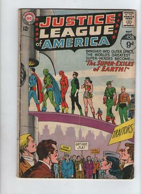 DC Comics JUSTICE LEAGUE OF AMERICA # 19 MAY 1963 12c USA