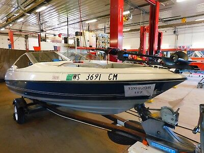 17' Bayliner Capri 70HP Force Outboard Escort Trailer T1269298